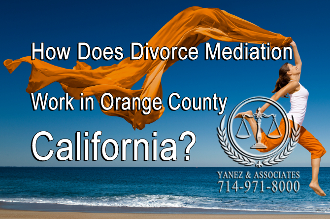 How Does Divorce Mediation Work in OC California?