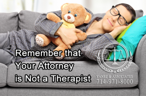 A therapist or a loved one can be much more effective at helping you deal with the emotional aspects of a divorce