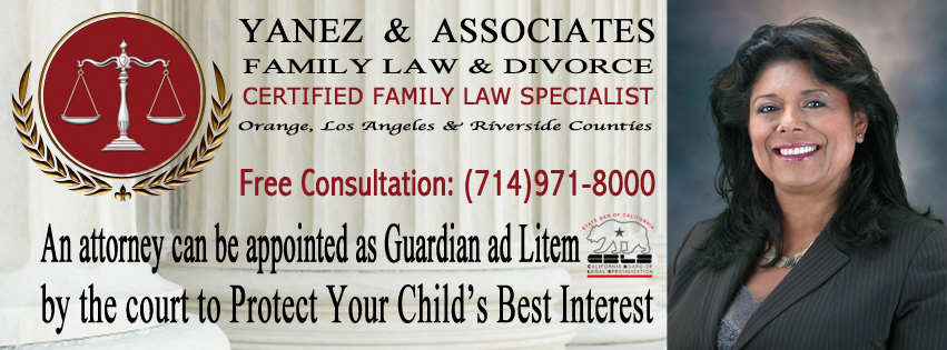An attorney can be appointed as Guardian ad Litem by the court to Protect Your Child's Best Interest