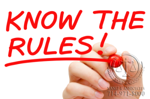 Know the rules when facing contempt of court charges in Orange County!