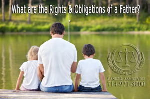 What are the Rights and Obligations of a Father in Orange County