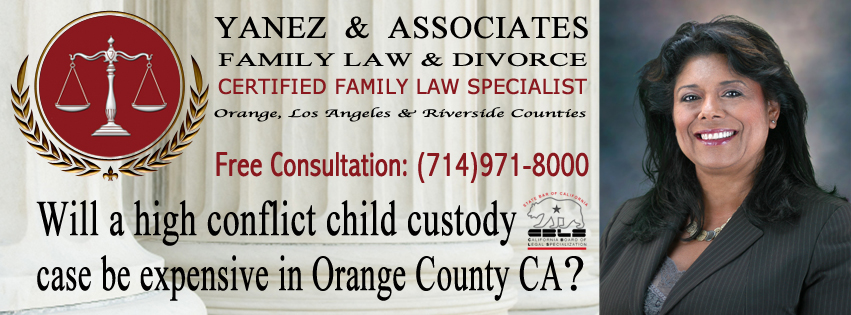 Obtain a free consultation with our firm to disscuss your high conflict child custody case in Orange County CA