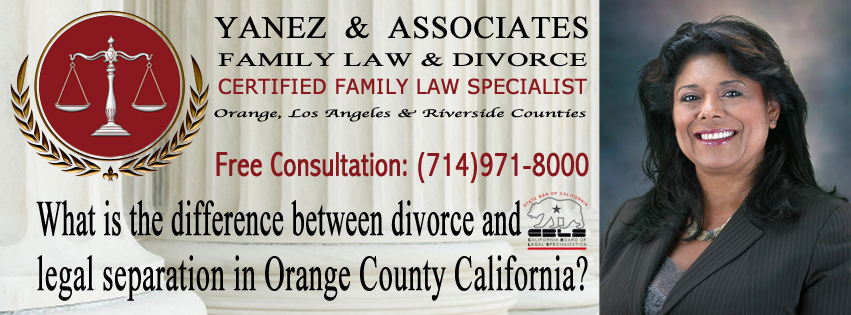 Contact me to learn more about - the difference between divorce and legal separation and to see which one is best for YOU and your family