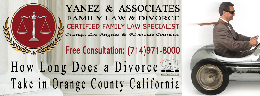 How Long Does a Divorce Take in Orange County California