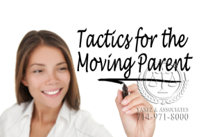Helpful Tactics for the Moving Parent that can help win a case