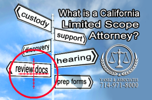 What can an OC California Limited Scope Attorney help me with?
