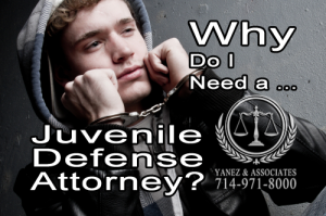Why Do I Need a Juvenile Defense Attorney in California?