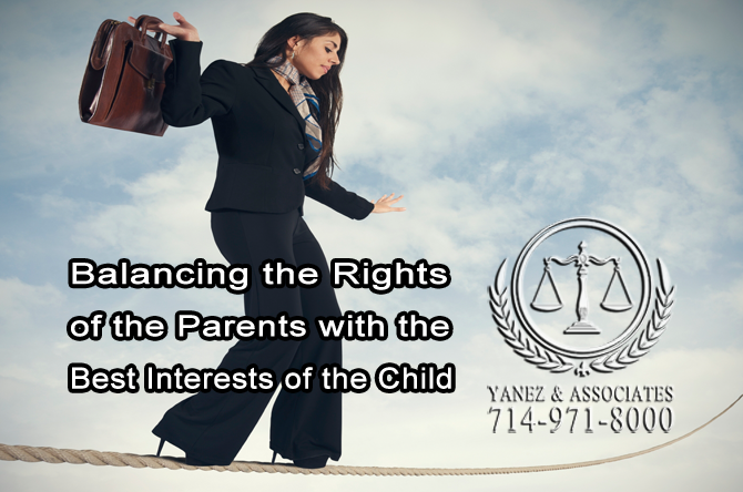 Balancing the Rights of the Parents with the Best Interests of the Child