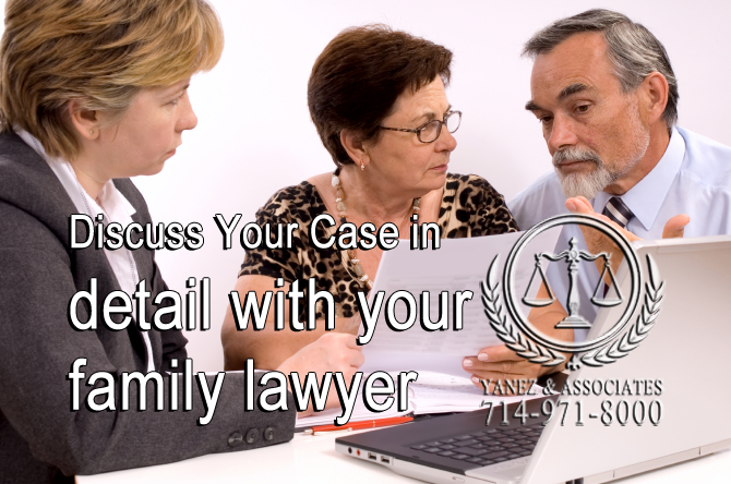 Discuss Your Case in detail with your family lawyer