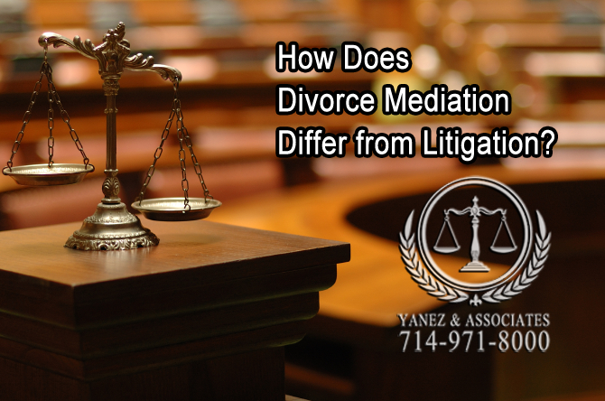 How Does Divorce Mediation Differ from Litigation?