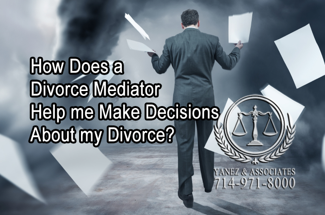 How Does a Divorce Mediator Help me Make Decisions About my Divorce?
