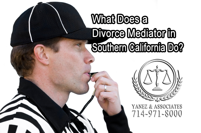What Does a Divorce Mediator in Southern California Do?