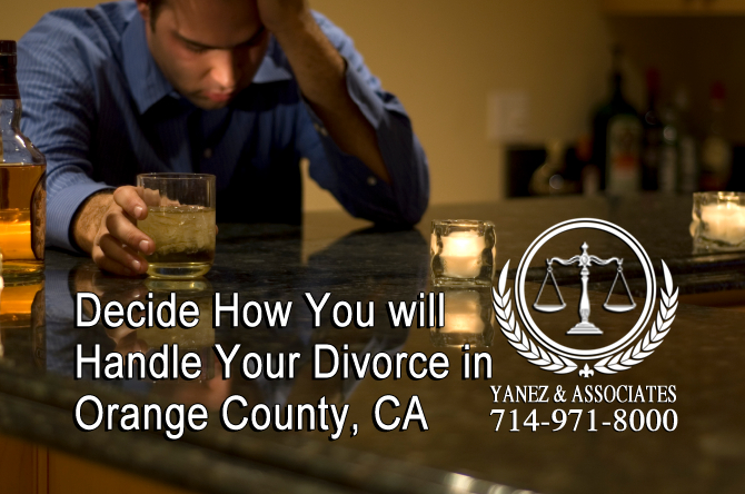 Decide How You will Handle Your Divorce in CA