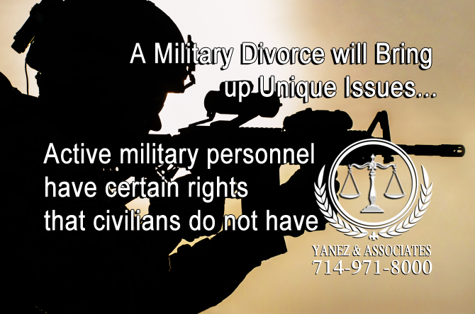 Military Divorce will Bring up Unique Issues