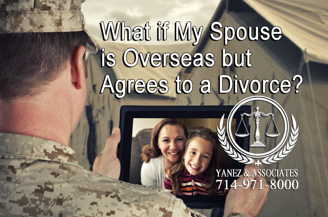 What if My Spouse is Overseas but Agrees to a Divorce?