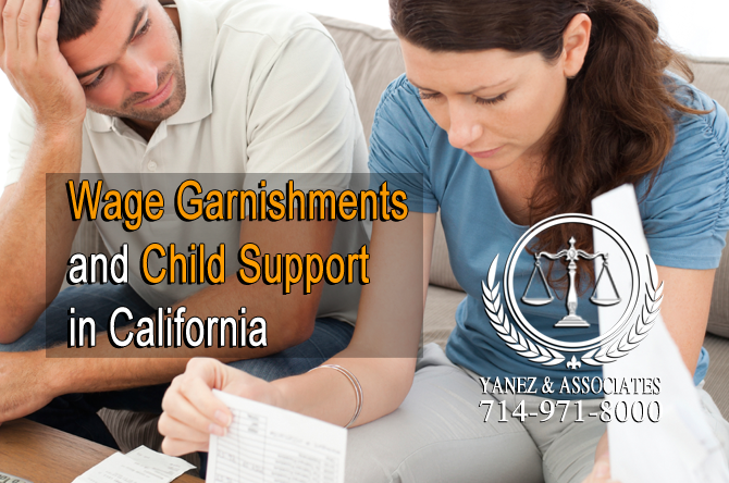 Wage Garnishments and Child Support in California