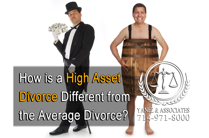 How is a High Asset Divorce Different from the Average Divorce?