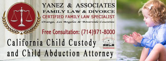 California Child Custody and Child Abduction Attorney