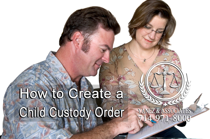 How to Create a Child Custody Order