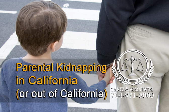 Parental Kidnapping in California (or out of California)