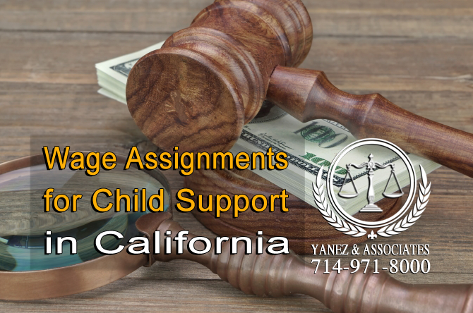 Wage Assignments for Child Support in Californi