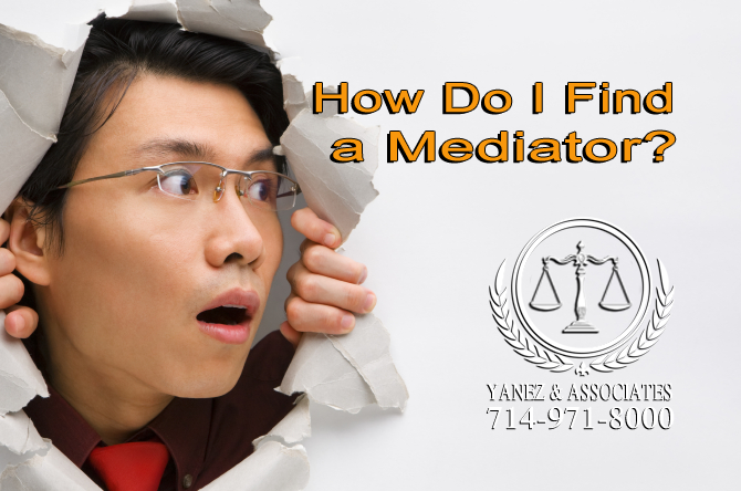 How Do I Find a Mediator?