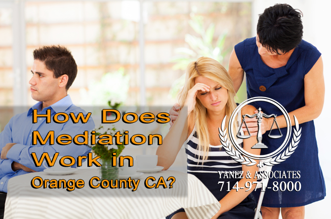 How Does Mediation Work in Orange County CA?