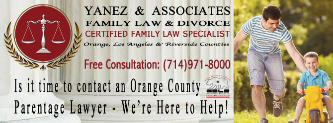 If you have ever asked yourself, How Can I Establish Paternity in Orange County; perhaps it is time to contact our Orange County Parentage Lawyers - We're Here to Help!