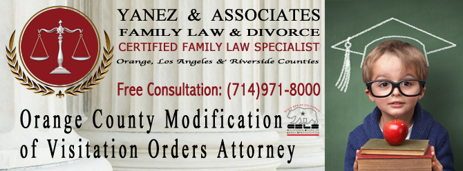 Orange County Modification of Visitation Orders Attorney