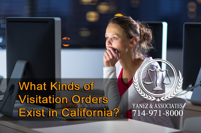 What Kinds of Visitation Orders Exist in California?