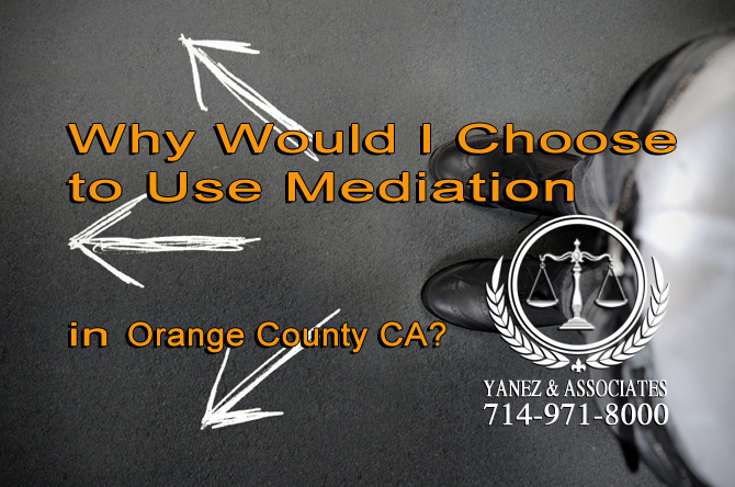 Why Would I Choose to Use Mediation?