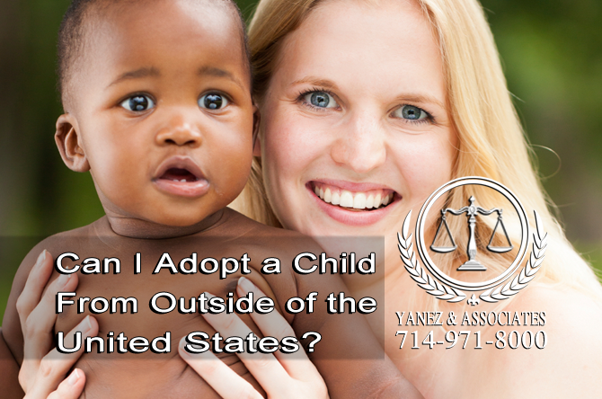 Can I Adopt a Child From Outside of the United States?
