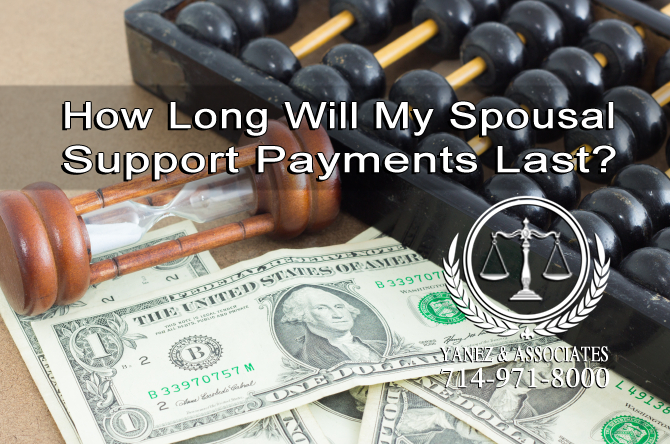 How Long Will My Spousal Support Payments Last?
