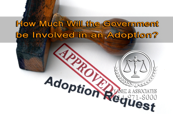How Much Will the Government be Involved in an Adoption?