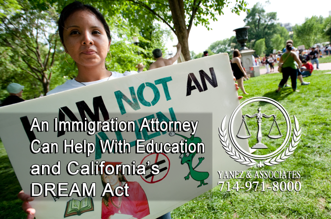 An Immigration Attorney Can Help With Education and California's DREAM Act