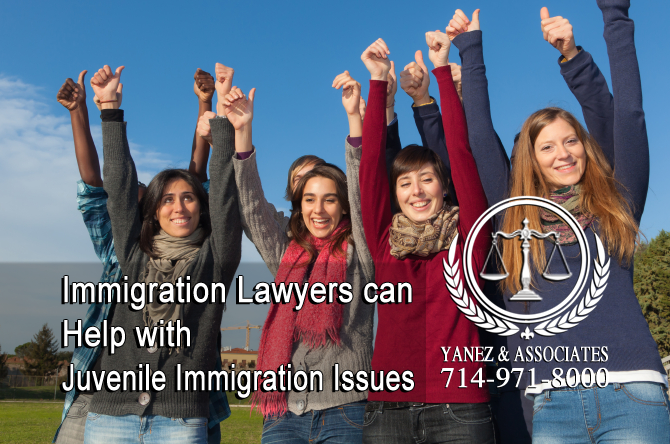 Immigration Lawyers can Help with Juvenile Immigration Issues