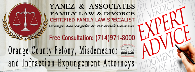 Orange County Felony, Misdemeanor and Infraction Expungement Attorneys
