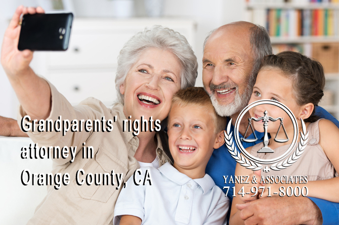 Grandparents' Rights in Orange County